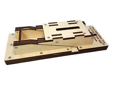 Laser-cut Scarf Joint Miter Box Kit - For Perfectly Cut Scarf Joints by Hand!