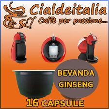 16 capsule bevanda Ginseng Dolce Cialdeitalia comp. Nescafè Dolce Gusto