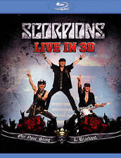 Scorpions: Live in 3D - Get Your Sting  Blackout (Blu-ray Disc, 2012, 3D)