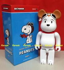 Medicom Be@rbrick 2014 Peanuts Comic Charlie 400% Snoopy Flying Ace Bearbrick 1p