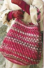 Crochet Pattern ~ LADIES BOBBLE TOTE BAG Purse ~ Instructions