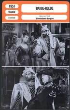 BARBE-BLEUE - Aubry,Brasseur,Debucourt (Fiche Cinéma) 1951