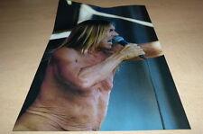 IGGY POP !!!!!!!!!!!!!!!!!!2013 !!!FRENCH!!!! Mini poster  !!!