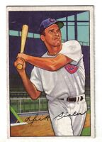 1952 Bowman Baseball card  #127 Dick Sisler Cincinnati Reds  VGEX