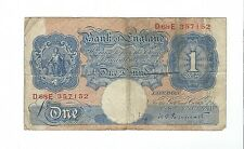 England - One (1) Pound, 1940-48