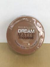Maybelline Dream Matte Mousse Foundation Caramel Dark 2 Brand New Sealed
