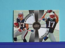2010 Topps Prime 2nd Quarter Relics #2QR-GP Rob Gronkowski/Taylor Price RC/SP