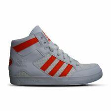 Para Hombre Adidas Court Hi-BB7760-Hard Blanco Naranja