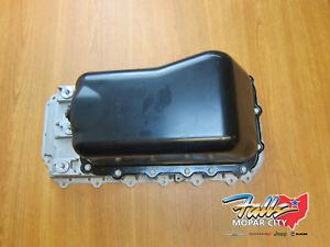07-11 Jeep Wrangler 3.8 liter Engine Oil Pan Upper & Lower Mopar OEM 4666153AC
