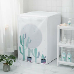 1Pcs Washing Machine Cover Waterproof Dust Cover Household Goods accessorisn