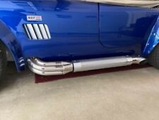 Chrome Sidepipe Heat Shields Shelby Cobra 427 Replica Kit Car Side Pipes F5