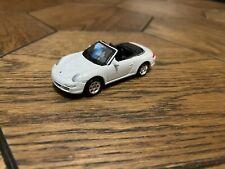 Welly Porsche 911 Carrera S Cabriolet White (997) Die-cast Scale Model