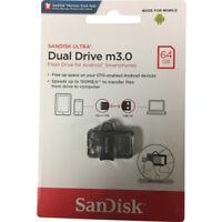 SanDisk 16GB/32GB/64GB M3.0 Ultra OTG  Micro USB 3.0 Memory Stick Flash Drive-UK