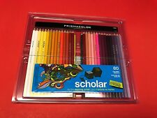 Prismacolor Scholar Colored Pencils, 60-Count NEW IN PACKAGE 92808ht