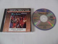 Rick James – Greatest Hits (CD 1987) Japan Pressing
