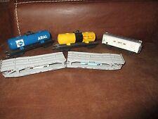 Lima ferroviaire-Lot wagons Shell,Aral,Interfrigo,Transport automobile