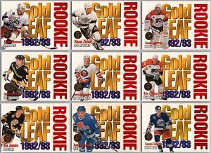 1993-94 LEAF GOLD ROOKIES INSERT CARDS - PICK SINGLES - FINISH SET Mint Rare BV