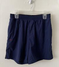 Rhone Men Blue Athletic Exercise Shorts Sz ? Euc