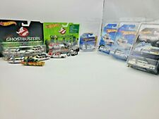 HOT WHEELS GHOSTBUSTERS ECTO LOT W/ VHTF SNOWFLAKE CARD
