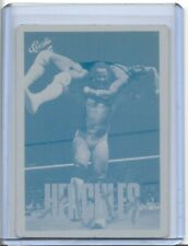 1/1 HERCULES 1990 CLASSIC CARDS WWE PRINTING PRESS PLATE WF WRESTLING 1 of 1