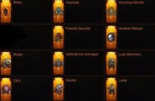 Diablo 3 PS4 Pets, Wings And Banners  Cosmetic package ( New Patch)