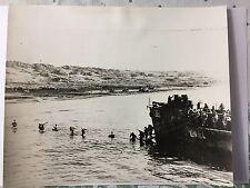 ww2 photo press  Italy , the allied landings at Anzio    1944          B339