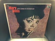 Mary Wells Love Songs To the Beatles LP 20th Century 1965 VG+