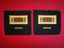 Pair Of US Army CHIEF WARRANT OFFICER CW2 Rank Shoulder Badges Epaulets *New*