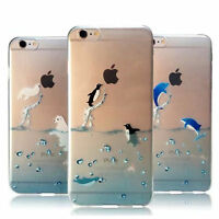 """1x Transparent Ultra Thin Phone Case Cover Skin For Iphone 5S 6/6 Plus 4.7""""/5.5"""""""