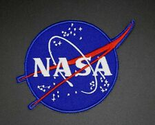 NASA MEATBALL PATCH,  NASA VECTOR INSIGNIA PATCH, MEATBALL LOGO PATCH (NASA-103)