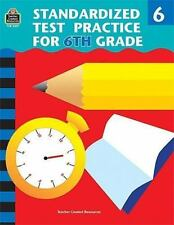 Standardized Test Practice for 6th Grade-ExLibrary