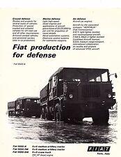 1977 Fiat 6605n 6605 fm 6605 dm military medium artililery tractor  Vehicles Ad