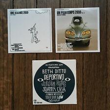 LOT CD x3 COMPILATIONS 2010 2011 INROCKS INROCKUPTIBLES VOLUME PRINTEMPS RENTREE