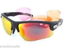 Bloc Titan Xr630 4 Lens Sunglasses - Matt Black/red Lens