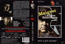 Maigret et l'affaire Saint-Fiacre Jean Gabin    (DVD   PAL)
