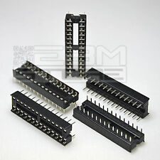 5 pz zoccoli 28 pin per circuiti integrati DIL - ART. FY07