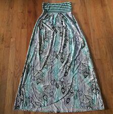 Element Strapless Maxi Dress Sz Medium