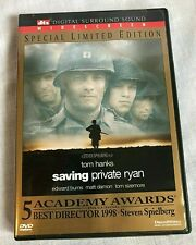 Saving Private Ryan Tom Hanks Widescreen Dvd Special Limited Edition Matt Damon