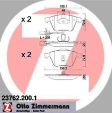 Zimmermann Disc Brake Pad Set fits 2001-2005 Audi Allroad Quattro A6 Quattro A6,