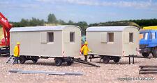 Kibri 10278 H0 -  Bauwagen 2 Stück NEU & OvP