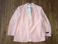 Nwt Towncraft Rose Pink Blazer Sport Coat Men's Size 46L