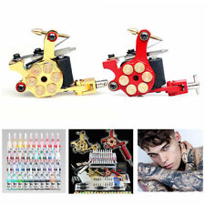 Tattoomaschine Komplett Tätowierung Set Kit Für Starter 50 Nadeln 40 Farben Inks