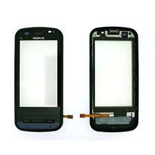 Original Nokia C6 00 Pantalla táctil Digitalizador con Marco módulo-Negro
