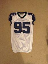 Landon Cohen Seattle Seahawks Game Used Away Jersey w/Seahawks Barcode