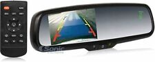 "Crimestopper SV-9157.CT Rearview Mirror Monitor w/4.3"" Screen/Compass/Temp Gauge"
