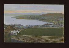 New Zealand WELLINGTON Harbour from Kelburne Tramway c1900/10s? PPC