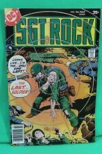 Sgt. Rock #306 Our Army at War Comic by DC Comics Original Series VF