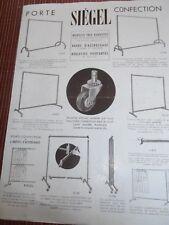 catalogue - dépliants siégel vitrine magasin ( ref 54 )
