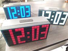 Gran reloj, Big Clock LED, Jumbo azul