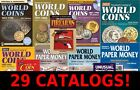 29 Coin and Paper Money Catalogs Collection - KRAUSE Standard World 2015 + MORE!